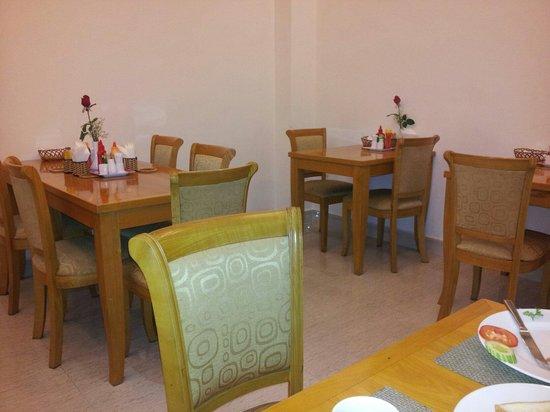 Tan Hoang Long Hotel : Breakfast Room