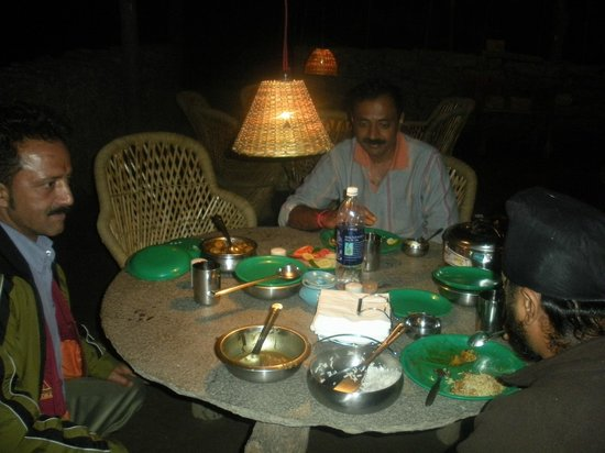 Kinner Camp Sangla : Dinner time