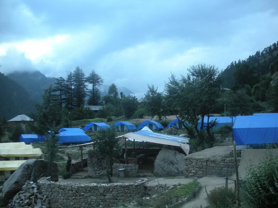 Kinner Camp Sangla : Morning view