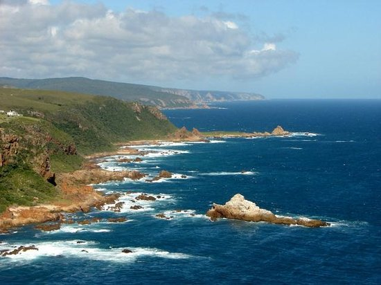 Knysna, Afrique du Sud : View of the Heads from Featherbed Nature Reserve