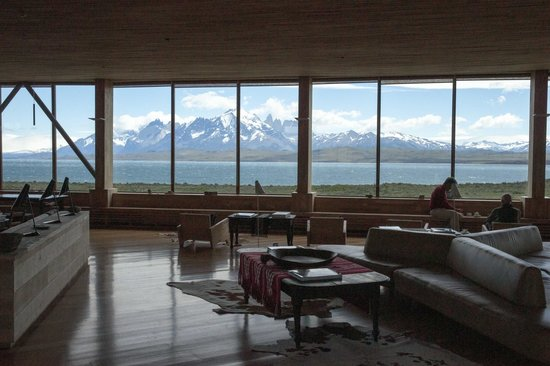 Tierra Patagonia Hotel & Spa: View from the Lounge