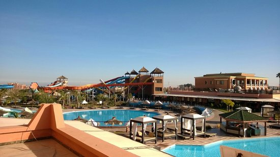 Labranda Aqua Fun Club Marrakech : view from room