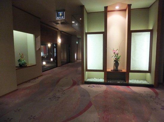 Nishikien: 廊下