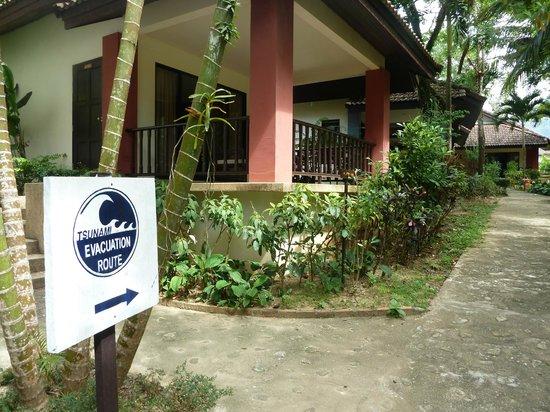 Khaolak Countryside Resort & Spa: Garten
