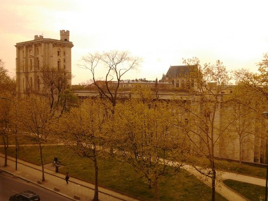 Hotel du Chateau: View from My Room