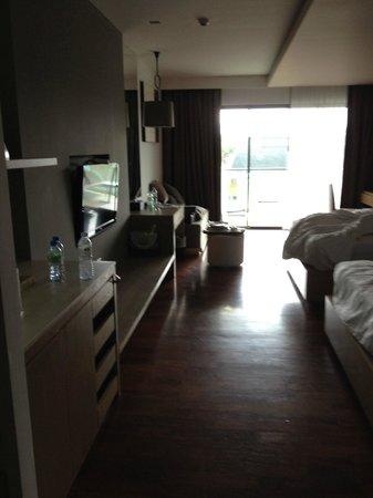 Phuket Graceland Resort & Spa: room as we were leaving