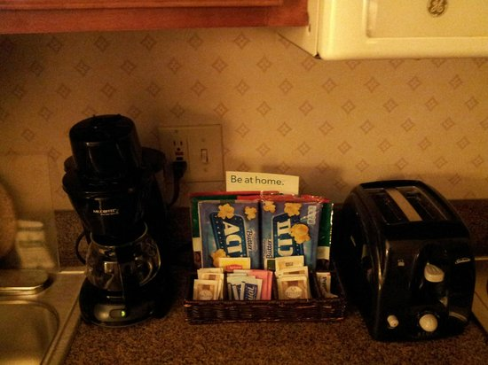 Homewood Suites by Hilton New Orleans: Kitchen items