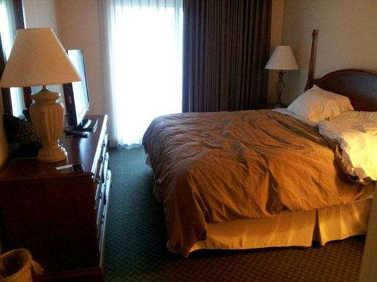 Homewood Suites by Hilton New Orleans: King bedroom