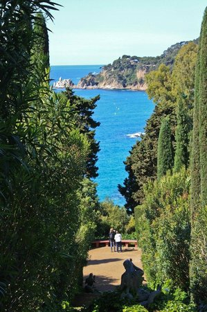 Jardin Santa Clotilde : Живописные пейзажи