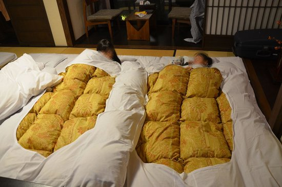 Ryokan Tanabe : Bedding
