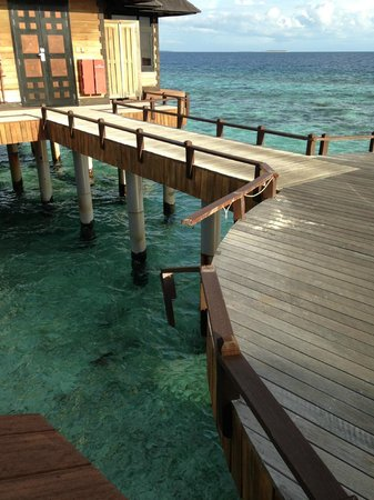 The Sun Siyam Iru Fushi Maldives : Mauvais entretient général sur l'atoll
