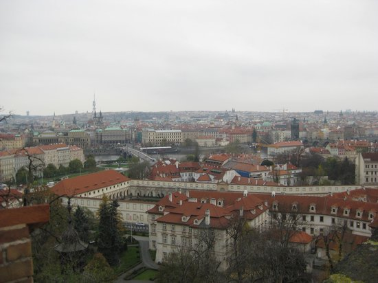 Hotel Grand Majestic Plaza Prague: View from Clementinum