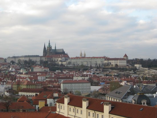 Hotel Grand Majestic Plaza Prague: View from castle