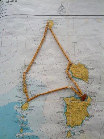 Nautiness Sailing: Diese Route sind wir gesegelt ;-)