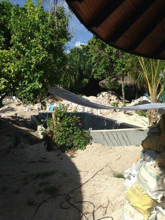 The Sun Siyam Iru Fushi Maldives : Travaux de la 261