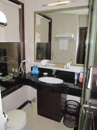 Wanxing Hotel Beining Street: bathroom