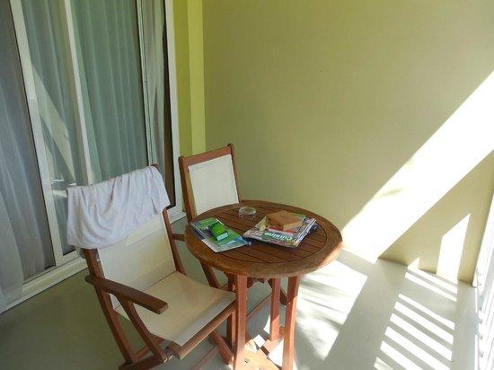 Hotel Le Recif: balcon