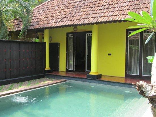 Vivanta by Taj - Kumarakom : pool side in the suite