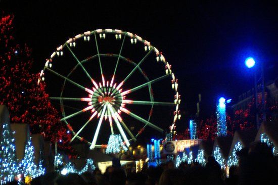 Place Ste. Catherine : Big Wheel at St Catherine,s