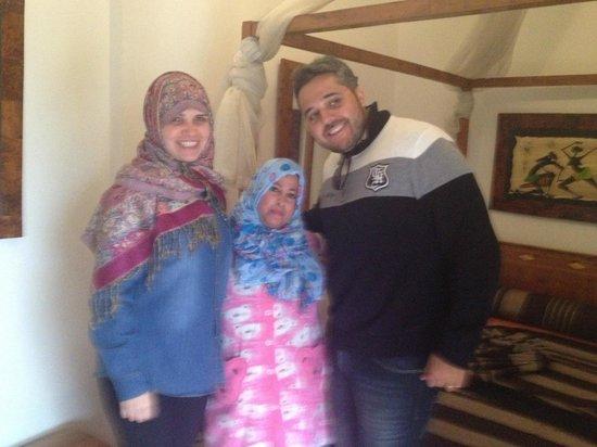 Riad Dar Najat: Muito simpatica essa senhora!