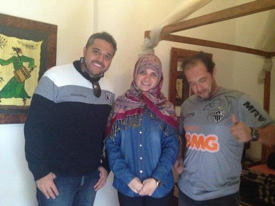 Riad Dar Najat: Minha esposa vestida de arabe