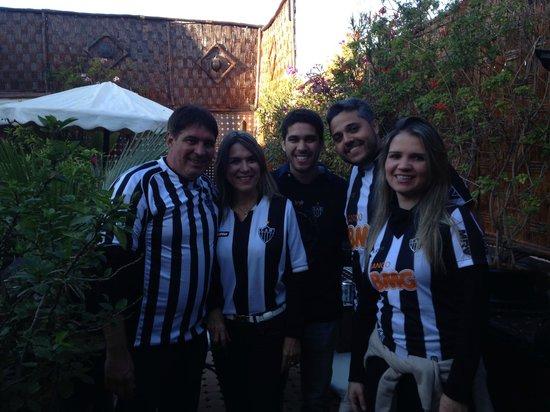 Riad Dar Najat: Brasileiros no hotel