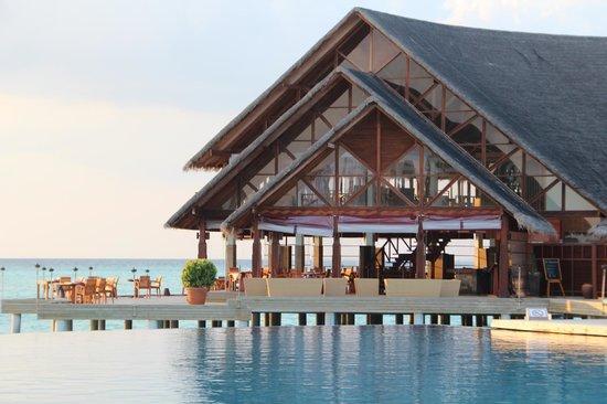 Anantara Dhigu Maldives Resort: Restaurant principal Dhigu