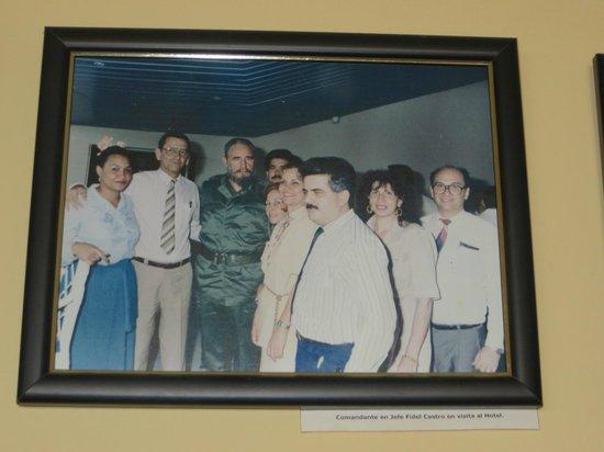 Meliá Santiago de Cuba: Fidel im Hotel