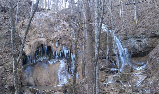 Christiansburg, VA: Falls Ridge Falls from the walking trail