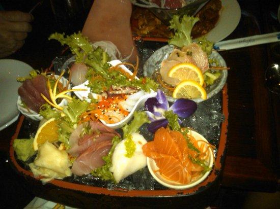 Tokyo Sashimi Dinner at Bluefin Sushi