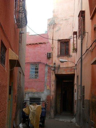 Riad El Farah: camino del hotel