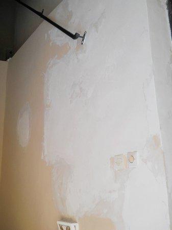 Riad El Farah: paredes del hotel