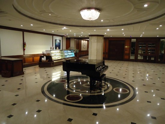 Taj Coromandel Chennai: The underground lobby