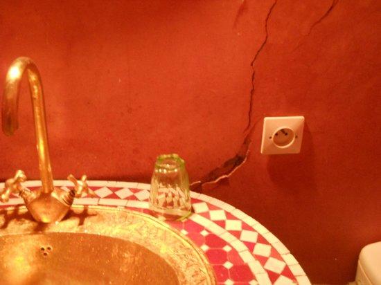 Riad El Farah: baño