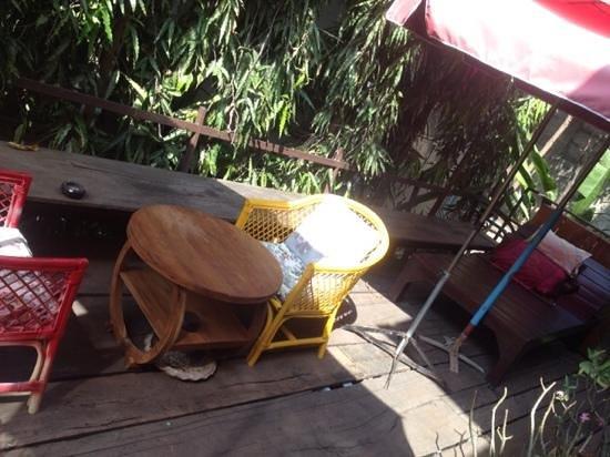 Tamarind: Common area outside
