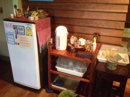 Tamarind: Complimentary food and drinks