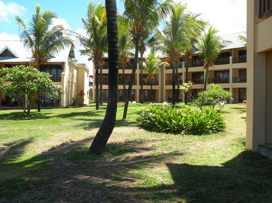C Palmar Mauritius : giardino del resort
