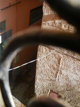 Riad El Farah: vistas desde la habitación