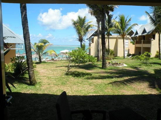 C Palmar Mauritius: vista dalla nostra camera