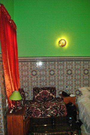 Dar Ahl Tadla: my room and the night lamp