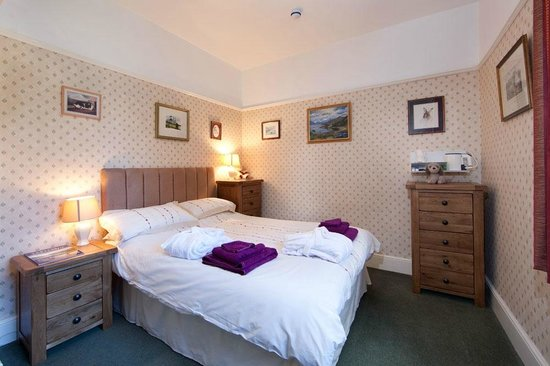 Thornthwaite Grange: Blencathra - double room with large en suite bathroom