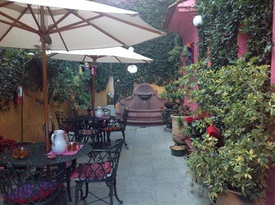 Casa Pereyra Hotel: Patio del Hotel