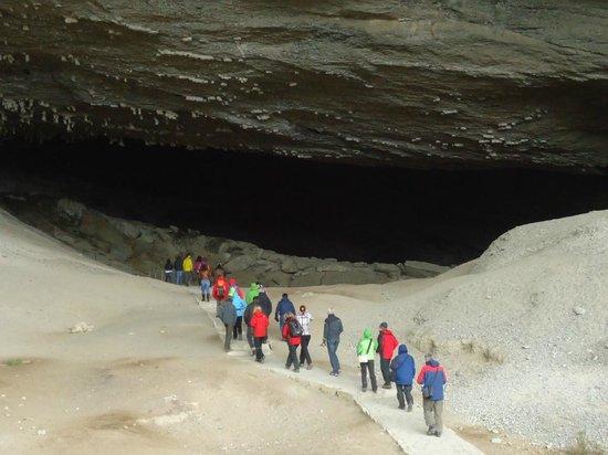 Cueva del Milodon: Entrada