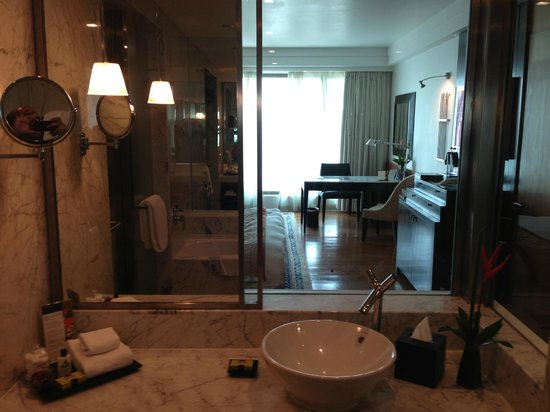 InterContinental Marine Drive : View from Bathroom