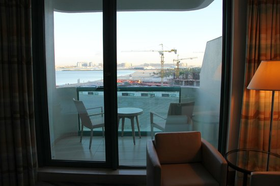 Hilton Dubai Jumeirah Beach : View towards north-east