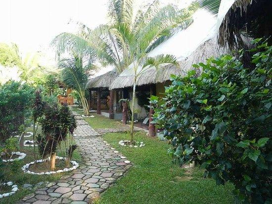 Paradise Inn: view from my Cabana