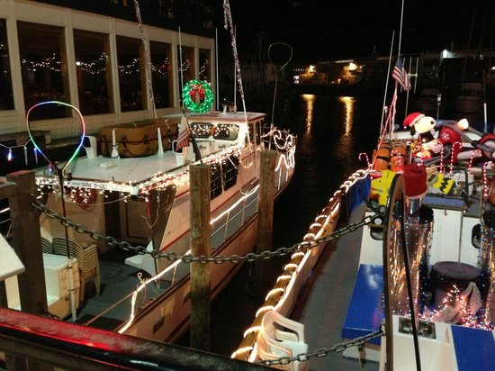 Fisherman's Wharf: ボートが綺麗に飾られていました