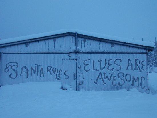 Lapland Hotel Pallas : Graffiti Lapland style