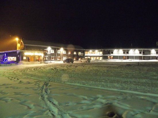 Lapland Hotel Pallas : Front of the hotel