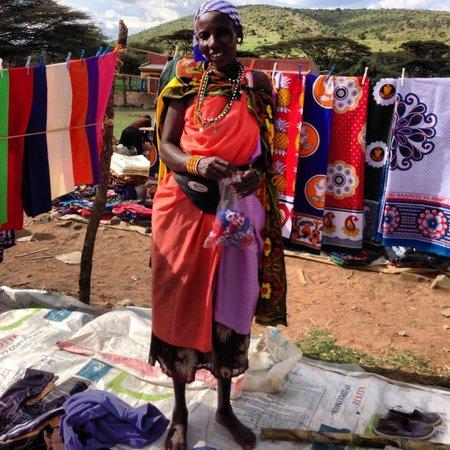 Mahali Mzuri - Sir Richard Branson's Kenyan Safari Camp: Meeting the locals
